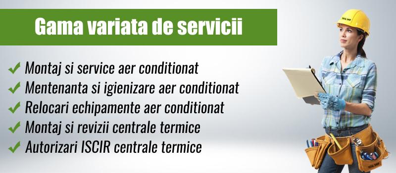 Gama servicii