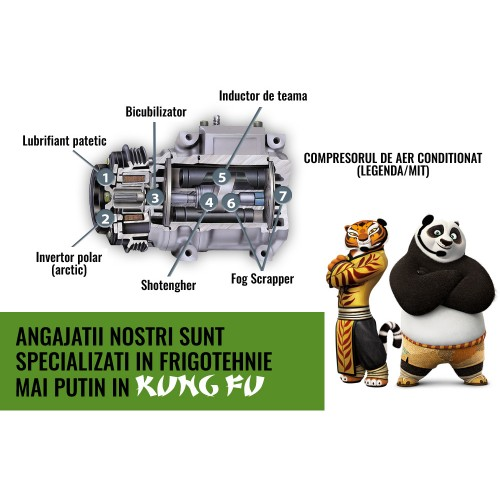 Panda aer conditionat